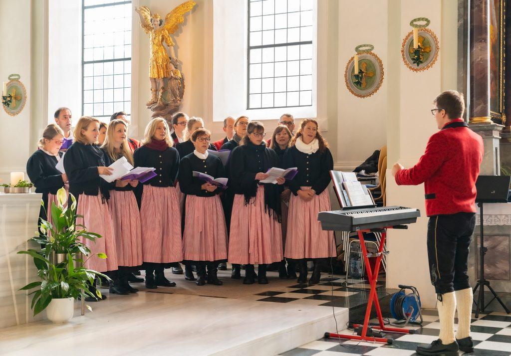 Ave Maria zum Auszug. Foto: Stefan Draxl