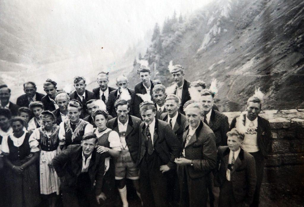 3-Pässe-Fahrt, 1953
