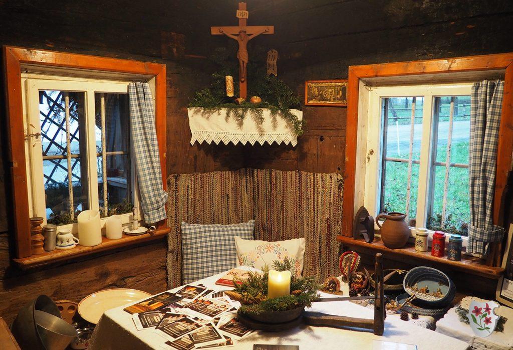 Küche im Strasser Häusl