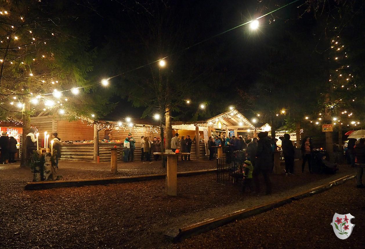 Wunderschöner Mayrhofner Advent am Waldfestplatz