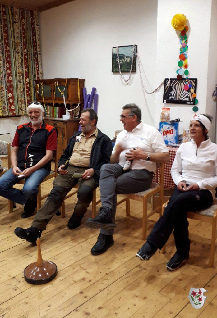 Unsere Jury: Thomas, Helmut, David und Petra