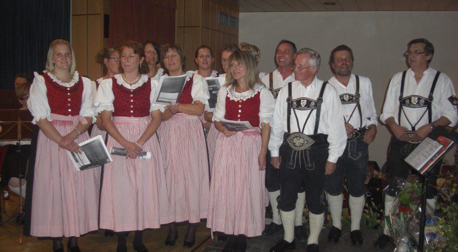 Terminankündigung: 4. Herbstkonzert der Steinrösler Sänger