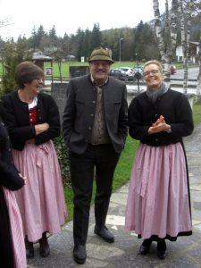 Auch unser langjährige Chorleiter Bantl Hansi ließ sich das Mariensingen nicht entgehen