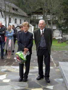 Goldene Hochzeit von Ivo Hanni und Hans