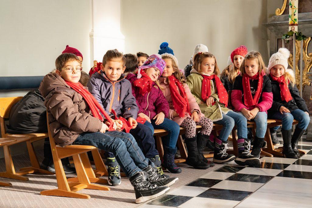 Bravourös meisterten die Kinder ihren großen Auftritt. Foto: Stefan Draxl