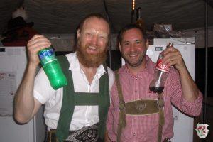 Sprite & Cola an der Schnapsbar?
