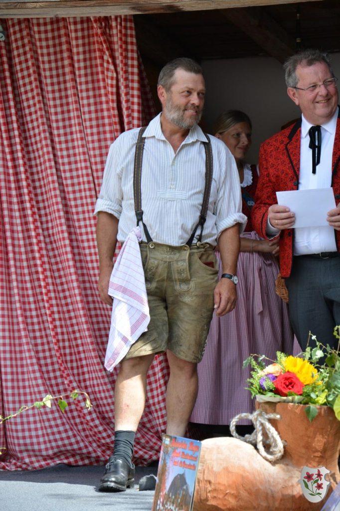 Jubilar Helmut - 15 Jahre Steinrösler