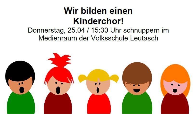 Neuer Leutascher Kinderchor ab Ostern 2019